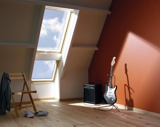 Okna dachowe fakro do zespolen ambit for Finestre tetto fakro