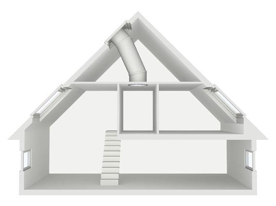 swietliki dachowe velux swietliki tunelowe twr twf ambit. Black Bedroom Furniture Sets. Home Design Ideas